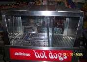 Vendo maquina hot/ dogs/ baporera