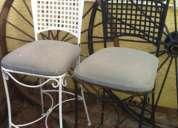Vendo 3 sillas para jardín