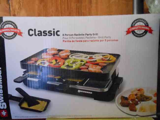 Vendo Raclette party grill p/ 8 personas