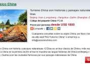 Turismo china con historias y paisajes naturalezas 12 dias