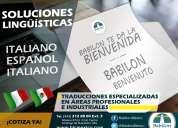 Traducciones italiano <> español