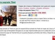 Viajes de lhasa a katmandu con guia en espanol 8 dias