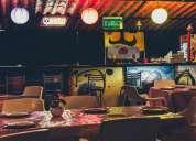 Barra profesional para restaurante o bar