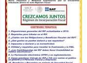 Curso de analisis del regimen de incoporacion fiscal para micro y pequeños negocios