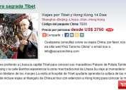 Viajes por tibet y hong kong 14 dias