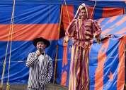 Renta de carpas de circo y espectaculos en tus eventos