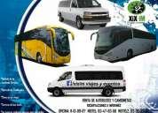 renta de autobuses, van y sprinter