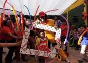 Circo y diversion con el imitador de cepillin