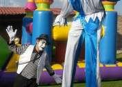 Arlequines payasos magos circo espectaculos sorprendentes