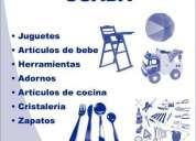Artículos y juguetes usados