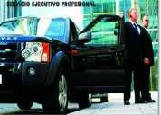 Servicio - chofer ejecutivo