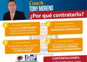 Conferencias y capacitaciones con tony moreno conferencista de monterrey