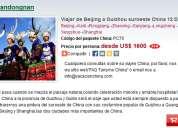 Viajar de beijing a guizhou suroeste china 12 dias