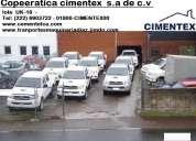 Empresa cimentex pone a la venta flota de veiculos toyota ford nissan mercedes