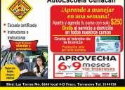 Aprende a conducir en una semana escuela de manejo autoescuela culiacÁn