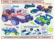 Reparacion de carros electricos montables