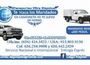 Cd. juarez - el paso tx. mudanzas express