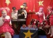 Payasos musicales de circo en tus eventos