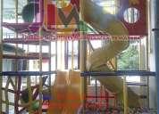 Juegos infantiles diseñamos a la medida de tu espacio, somos fabricantes, nacionales e importados