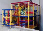 Juegos infantiles a la medida de sus necesidades, especiales para salones, escuelas, franquicias