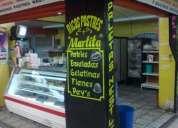 Excelentes locales en mercado postres helados y paletas