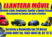 Llantera movil zapopan 24 horas