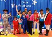Diversion sorprendente circo en tus eventos
