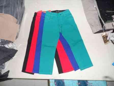 Pantalon De Mezclilla Infantil Muy Comodo, Resistente Y Económico