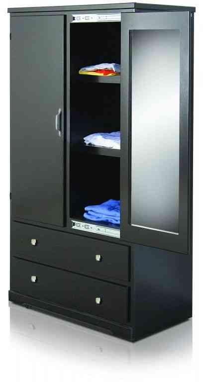 Ropero closet juvenil modelo peke monterrey doplim 245136 for Closet de madera monterrey