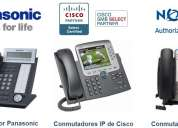 Servicio y venta en telefonÍa ip, conmutadores y cctv