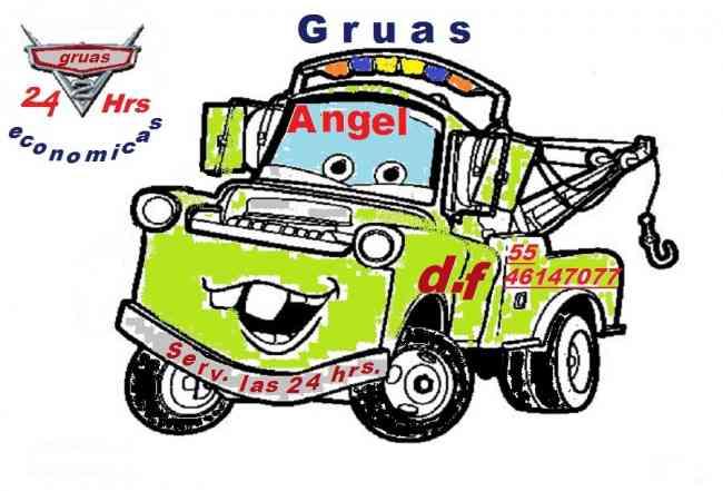 """SERVICIO DE GRUAS """"ANGEL"""" LAS 24 HRS 5546147077"""