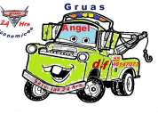 "Servicio de gruas ""angel"" las 24 hrs 5546147077"