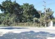Venta de excelente terreno abordo de carretera ixtapa