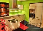 Diseño y fabricación de cocinas integrales, clóset y centros de entretenimiento.