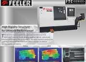 "Feeler ""cnc""  tornos y centros de maquinado."