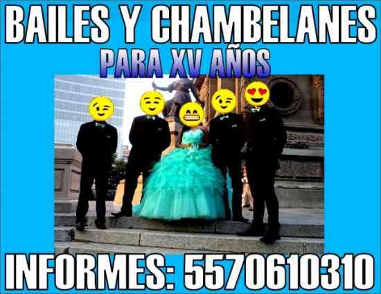 6b59c6614 Bailes con 4 Chambelanes para XV Años