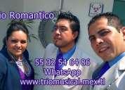 Trio para fiestas en la ciudad de mexico