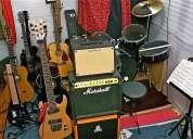 Clases de guitarra clasica, electrica, bajo y piano particulares