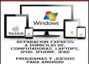 Reparación de computadoras y laptops a domicilio