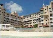 Rento estudios en cancún plaza (tipo estudio.) frente al mar
