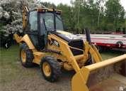 Remate retroexcavadora 420e cat 4x4 importada oferta maquinaria pesada