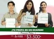 ¡termina tu prepa en un solo examen!
