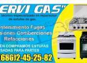 servicio tecnico especialistas en instalacion y reparacion de estufas