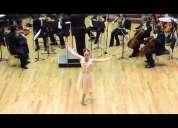 Orquesta sinfónica en navidad