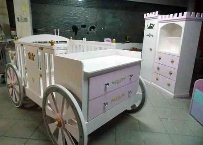 Cunas y muebles para bebe