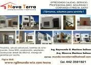 Construcción de casas querétaro desde $8000 m2,dro