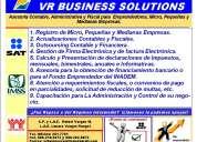 Asesoria contable, administrativa y fiscal  para emprededores, micro, pequeÑas y medianas empresas.