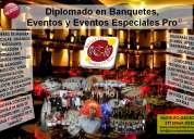 Diplomado en banquetes y eventos pro