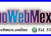 DiseÑos web profesionales en df | 5570632440 | alvaro obregon paginas web urgentes