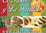 Tacos de pastor y parrilla
